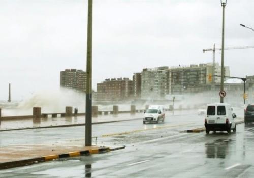 Fueron evacuadas 112 personas por las tormentas