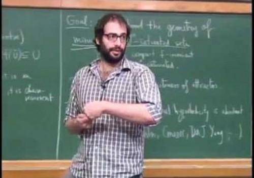 Rafael Potrie recibió Premio de la Unión Matemática