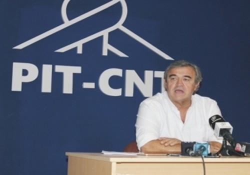 Jorge Larrañaga se reunió con dirigentes del PIT-CNT