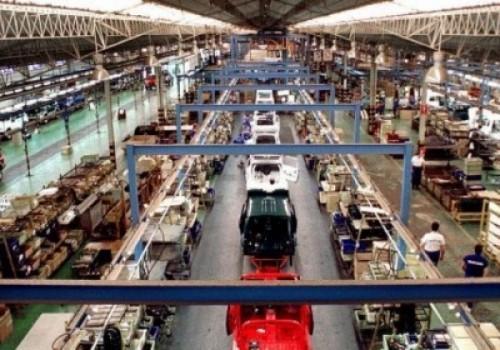 Producción industrial aumentó 12,3 % en marzo
